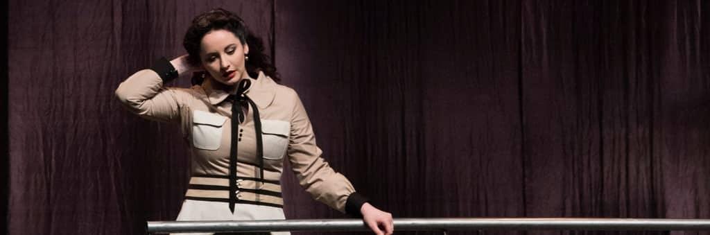 Marianne Croux soprano est Sophia (Iliade l'Amour, Betsy Jolas)